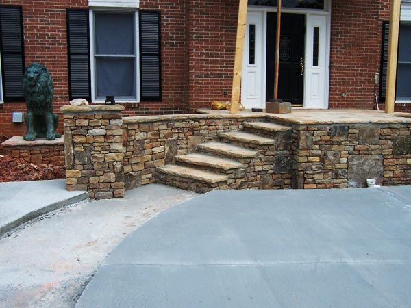 Atlanta retaining walls modular block systems concrete walls for Cost of poured concrete walls
