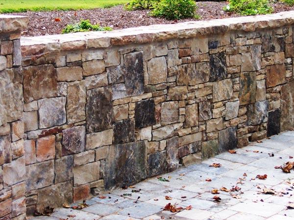 Atlanta retaining walls modular block systems concrete walls for Poured concrete walls vs block cost